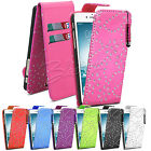 Bling Diamante Flip Leather Case Cover + Stylus For Apple Iphone 6 4.7""