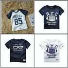 High Quality Boys Short Sleeve T Shirt Top Tee Kids age 2 3 4 5 6 7 100% cotton