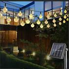 30 LED Ball Solar Party Fairy Outdoor String Lights for Patio & Garden
