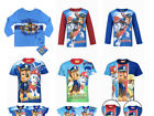 Official PAW Paw Patrol Long Sleeve Boys Top 3 4 5 6 7 Years Old