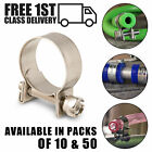 Mini Hose Clamps Jubilee Stainless Steel Clips 304 Fuel Line Petrol Diesel Pipe