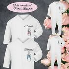 PETER RABBIT PERSONALISED BABY GROW VEST BODYSUIT PRINTED NAME BOY GIRL GIFTS