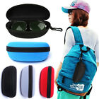 Portable Eye Glasses Box Zipper Shell Protect Hard Case Clam Sunglasses NEW 2019