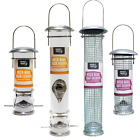 Deluxe Kingfisher wild bird hanging SEED or NUT Feeder Large or medium - deals