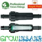 Antelco 13mm Filter Barbed In Line Garden Watering Irrigation LDPE Fits Hozelock