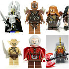 Lord Of The Rings Hobbit Dwarves Mini Figures Toys Use With Lego Orcs Goblins