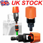 Universal Tap To Garden Hose Pipe Connector Mixer Kitchen Tap Adapter UK Lot
