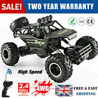 Kids Toys 4WD RC Monster Truck Off-Road Vehicle 2.4Ghz Remote Control Buggy Car