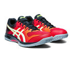 Asics Mens Gel-Rocket 9 Indoor Court Shoes - Red Sports Squash Badminton Netball