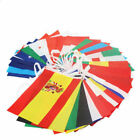 10 Metres International 32 Flags Of The World  Fabric Bunting