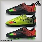 Adidas MESSI 15.4 Football TURF Trainers FxG Boots Girls Boys Size UK 12 3 5 5.5