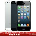 Apple iPhone 5 16GB 32GB Unlocked SIM Free Smartphone - Black White Colours