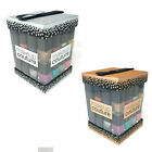 Pack of 12 Nail Polishes Varnish Glitter Cube Girls Silver Bronze Gift Set