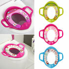 Children Potty Training Seat Baby Kids Toddler Handle Toilet Soft Pad Cushion