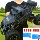 Kids Toy 4WD RC Car Monster Truck Off-Road Vehicle 2.4G Remote Control Buggy UK