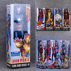 "12"" Marvel Avengers Action Figures Titan Hero Series Box Gloves Kids Toys Gifts"