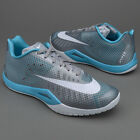 Nike Mens Hyperlive Trainers Basketball Shoes Grey/Blue 819663004 UK 10, 12.5