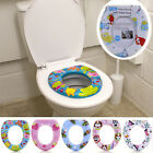 Potty Training Toilet Seat Thick Comfortable Foam Padded Baby Toddler Kids Child