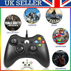 UK New USB Wired Xbox 360 Controller Game Pad For Microsoft 360 PC Windows
