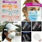 Full Face Visor Safety Mask PPE Shield Protection Cover Reusable Plastic Guard