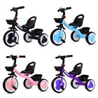 Kids Children Tricycle Baby Ride on Trike 3 Wheels Toddler In/Outdoor Toy Gifts