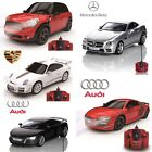 NEW Official Remote Control Cars Mercedes Audi Porsche Toy Gifts - 1:24 Scale