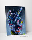 Graffiti Rude Middle Finger Canvas Art Wall Art Print Picture Banksy Canvas -D83