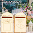 Wooden Wedding Post Box Royal Mail Flat Pack Unpainted MDF Gift Cards Engagement