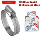 STAINLESS STEEL JUBILEE CLIPS GENUINE JUBILEE HOSE CLIPS WORM DRIVE HOSE CLAMPS