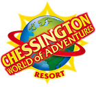 4 x Chessington World of Adventures Tickets - Sunday 11th August - Adult/Child