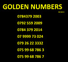 GOLDEN EASY UNIQUE VIP O2 SIM CARD DIAMOND PLATINUM MOBILE PHONE NUMBERS LUCKY