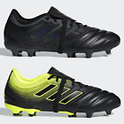 adidas Copa Gloro 19.2 FG Mens Football Boots Leather Black Yellow SIZE 6 7 8 9