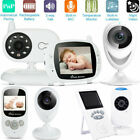 "2.4"" 3.5"" Wireless Digital Video Baby Monitor Camera Night Vision Safety Viewer"
