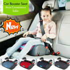 Car Booster Seat Chair Cushion Pad+ Cup Tray For Toddler Children Kids Sturdy UK