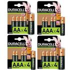Duracell AA AAA Rechargeable Batteries Ultra Plus NiMH Duralock Pre Stay Charged