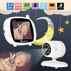 "3.5"" LCD Baby Monitor Digital Video Audio Camera Two-Way Talk Night Vision UK"