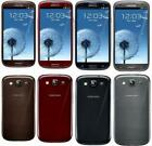 Samsung Galaxy S3 SIII GT-I9300 16GB Unlocked Black White Blue Red Smartphone