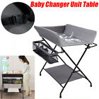 Portable Baby Changer Unit Table Nursery Changing Station Bath Mat with Storage