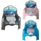 Baby Children Toddlers Kids Potty Training Chair Toilet Seat Plastic Lid