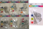 Childrens DIY Kids Arts And Crafts Paint Your Own Suncatcher Kit Fun Designs