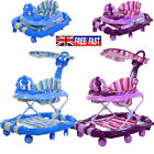 NEW 4in1 Baby Walker First Step Push Along Bouncer Activity Musical Ride On Car
