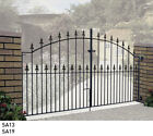 Wrought iron driveway gates metal gates steel gates Galvanised Powder Coated