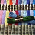 3 - 55 DMC CROSS STITCH THREADS/SKEINS - PICK YOUR OWN COLOURS FREE PP