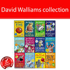 David Walliams 12 books collection Pack set children Fing, Ice Monster, Bad Dad