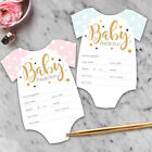 Baby Shower Games Prediction & Advice Cards Boy or Girl New Mum To Be C3