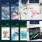 Faber Castell Premium Paper Pads Sizes - Sketch/Watercolour/Marker/Mixed/Acylic