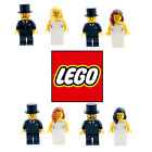 BRIDE & GROOM LEGO MINIFIGURES WEDDING CAKE TOPPERS CHOOSE YOUR OWN PERSONALISED