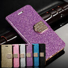 Bling Case For Samsung Galaxy S3 Glitter Slim PU Leather Diamond Magnetic Cover