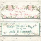 2 PERSONALISED MOTHER S DAY BANNERS - ANY NAME - ANY MESSAGE