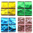 20mm Square Mirror Mosaic Tiles - Choice of Colours (8 Tiles)